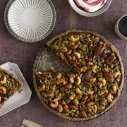 food styling pie