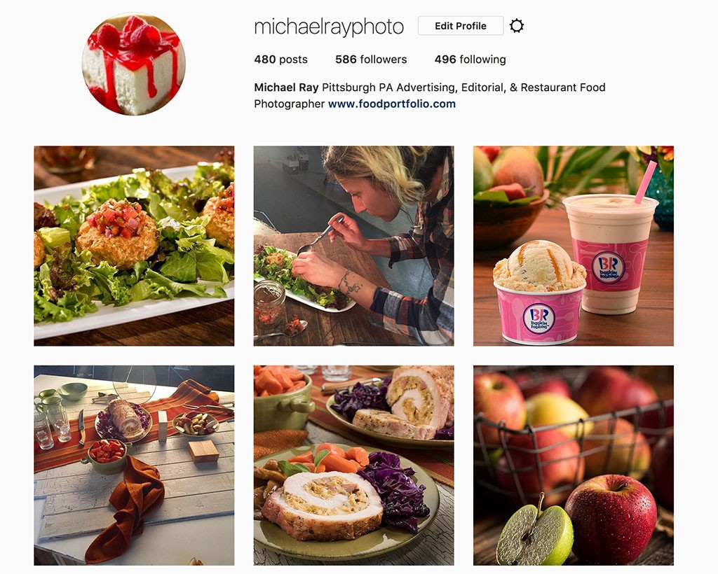 Best food photographers on Instagram