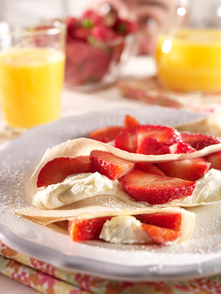 Crepes Food Photo