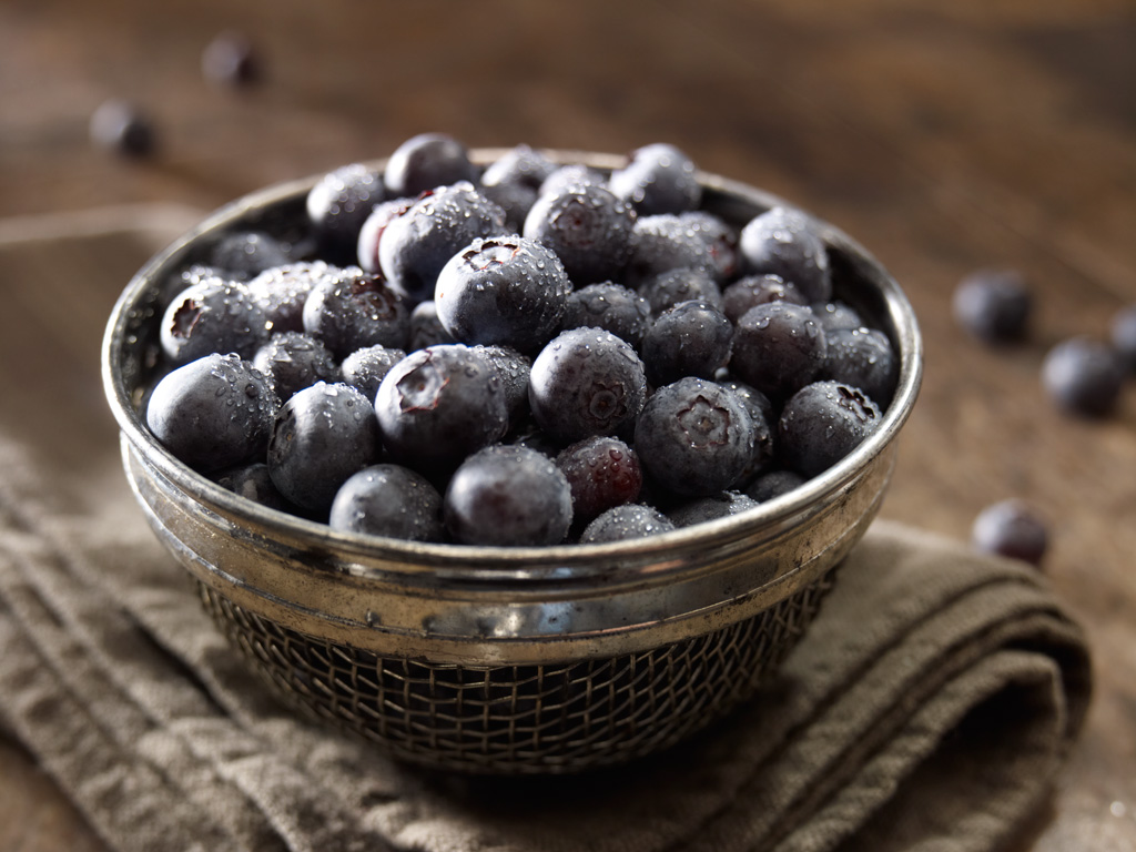 food photographers - blueberries