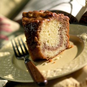 food photogrpahy of coffee cake