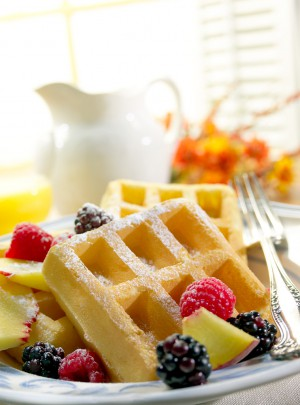 food photographyers - waffles