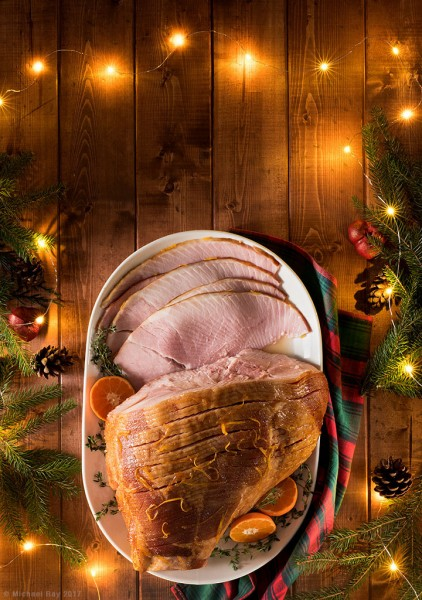 Ham Food Photography Cover