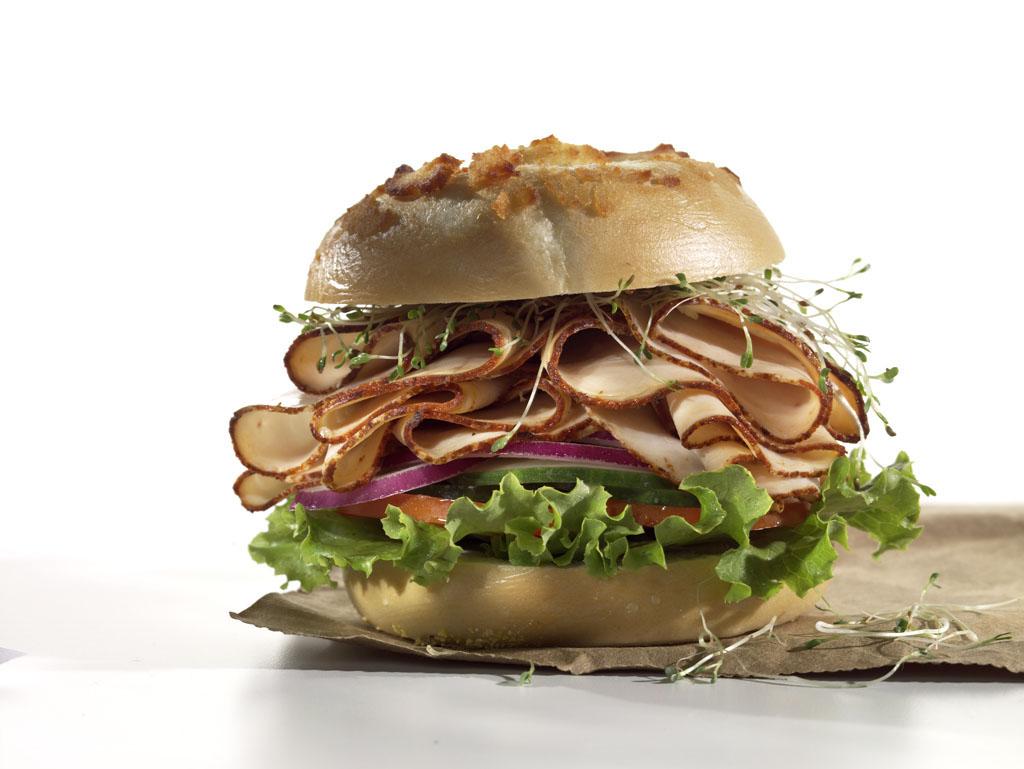 food photography turky sandwich