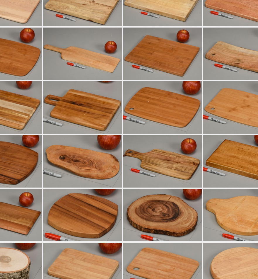 Food Photography props - cutting boards