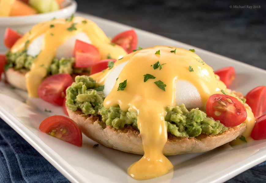 eggs benedict Food Photography