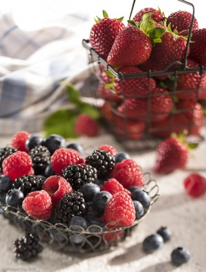 Food Photography of Berries