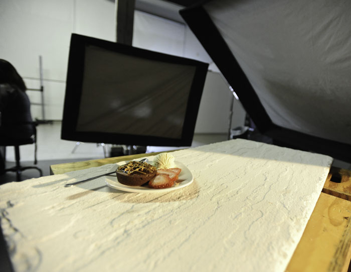 food photography lighting setup #01