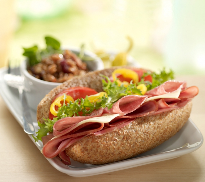 food photography sandwich