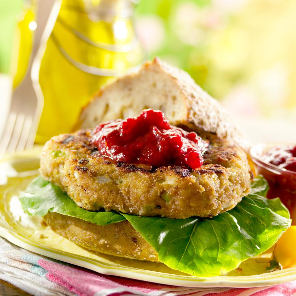 food photogrpahy salmon burger