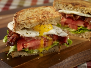 food photographers - egg sandwich