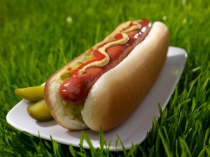food photography - hotdog