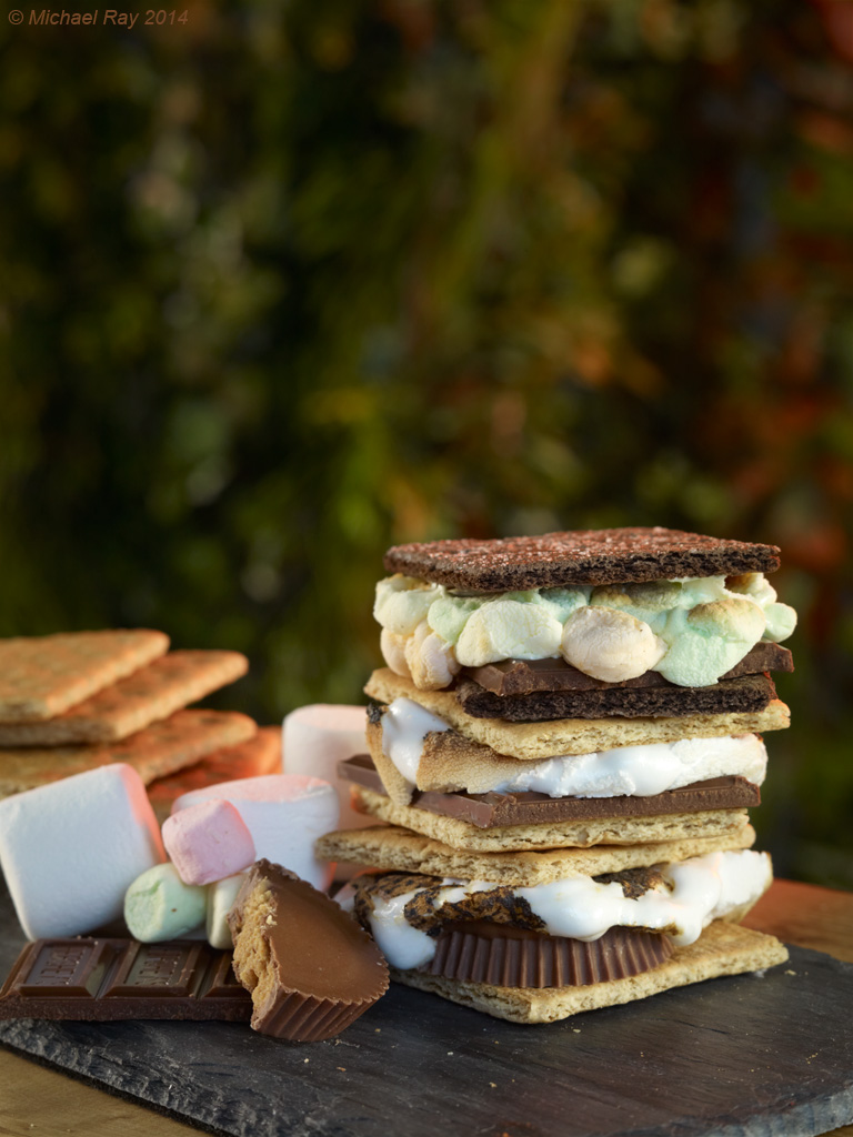 Food Photography of S'mores